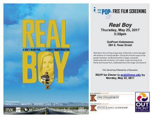 Real Boy Flyer
